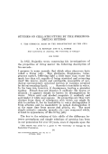 Studies on cell structure by the freezing-drying method V. The chemical basis of the organization of the cell