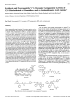 Synthesis and Neuropeptide Y Y1 Receptor Antagonistic Activity of NN-Disubstituted ╨Я ░-Guanidino- and ╨Я ░-Aminoalkanoic Acid Amides.