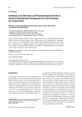 Synthesis X-ray Structure and Pharmacological Activity of Some 66-Disubstituted Chromeno[43-b]- and Chromeno- [34-c]-quinolines.