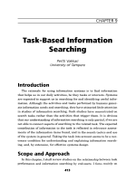 Task-based information searching.