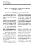 The role of fibroblasts and fibroblast-derived factors in periprosthetic osteolysis.