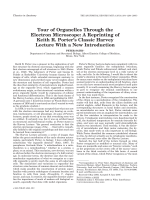Tour of organelles through the electron microscopeA reprinting of Keith R. Porter's classic Harvey Lecture with a new introduction