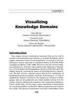 Visualizing knowledge domains.