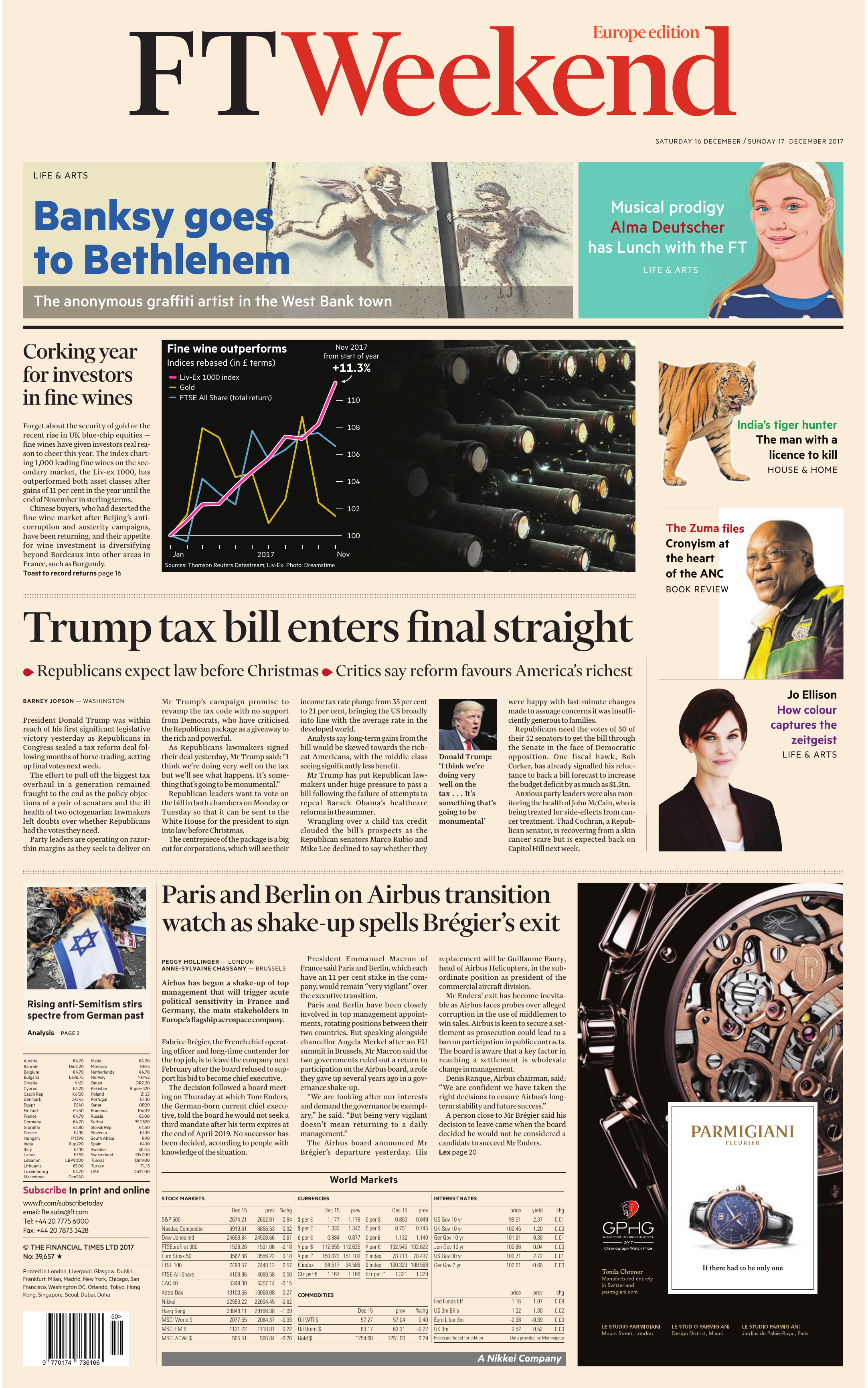 32d696fd571 Financial Times Europe – 16 December 2017