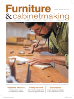 Furniture & Cabinetmaking - Issue 264 - December 2017