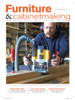 Furniture Cabinetmaking November 2017