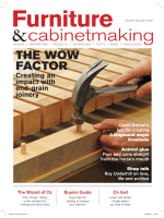 Furniture Cabinetmaking Issue 257 May 2017