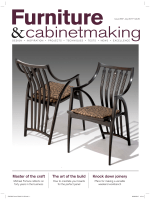 Furniture Cabinetmaking July 2017