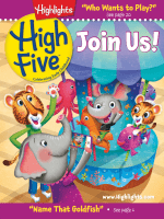 Highlights High Five Welcome Issue - January 2018