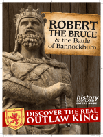 History Scotland Robert the Bruce the Battle of Bannockburn 2017