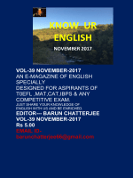 Know Ur English - November 2017