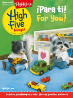 Highlights High Five Bilingue - February 2018