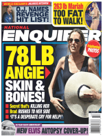 National Enquirer 7 August 2017