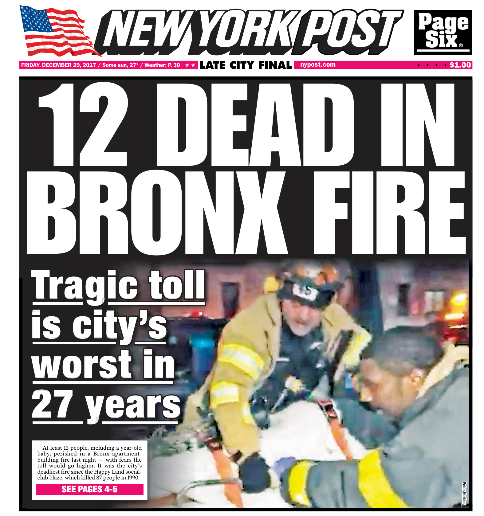New York Post - December 29 cb3e64939