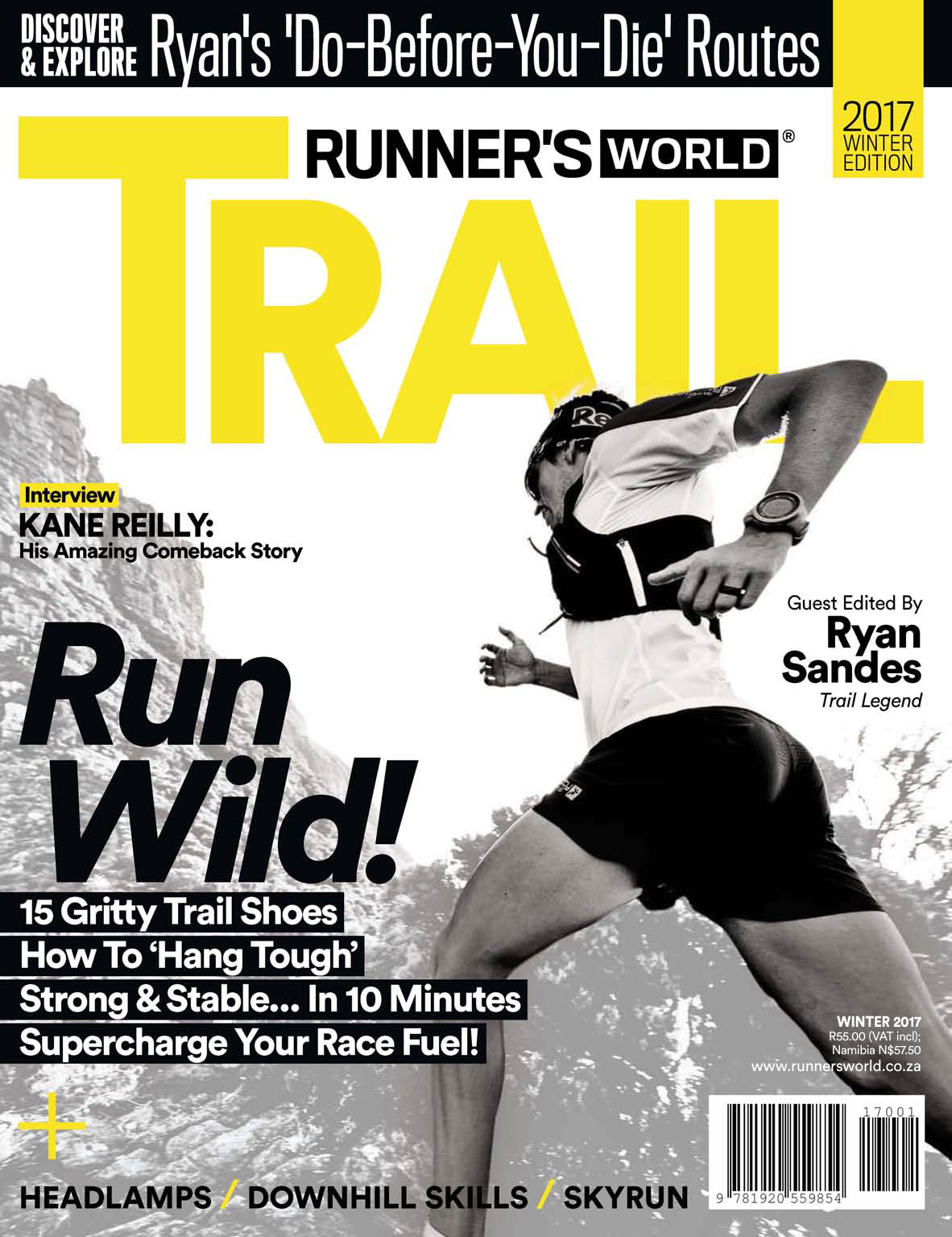 Runner s World South Africa - Special Edition Trail - Winter 2017 47dd9b341f1