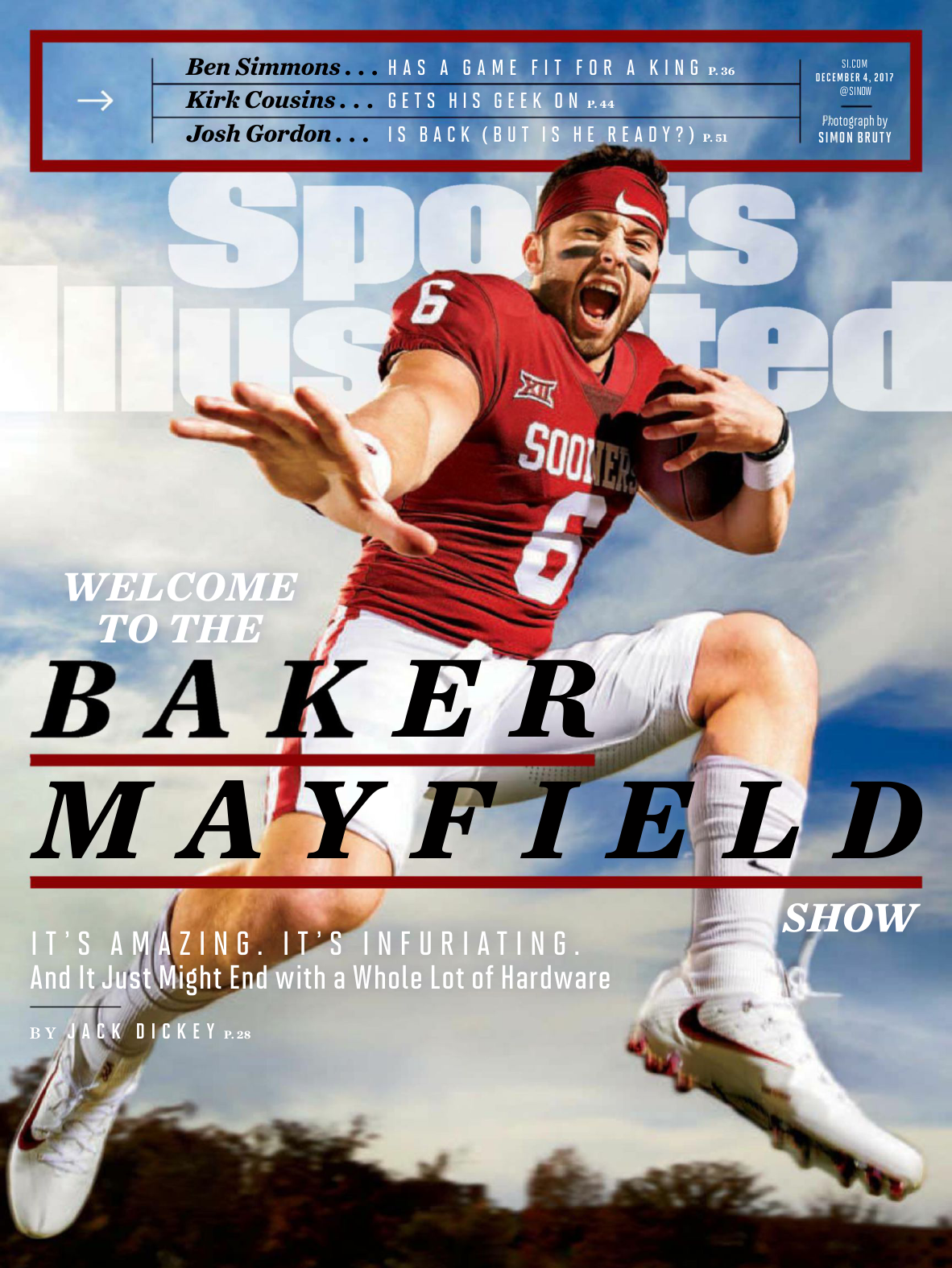 buy popular 3a092 252e7 Sports Illustrated USA - December 04, 2017