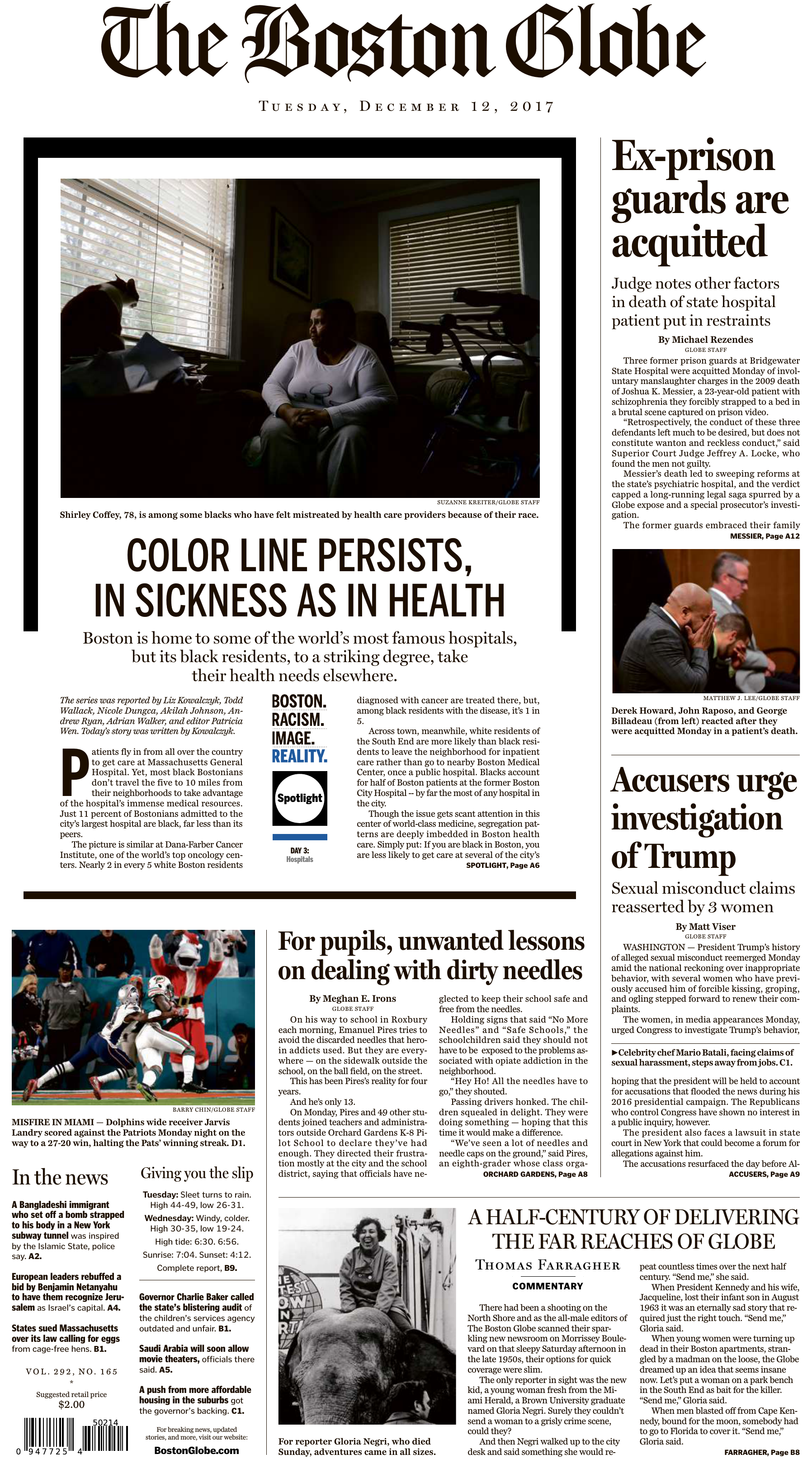 The Boston Globe – December 12 ef219efd5