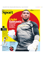 The Guardian Sport - March 31, 2018