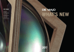DE MAJO 2017 EUROLUCE CATALOGUE 01