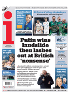 The i Newspaper – March 19, 2018