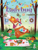 2018-04-01 Ladybug Stories, Poems, and Songs Magazine for Young Kids and Children