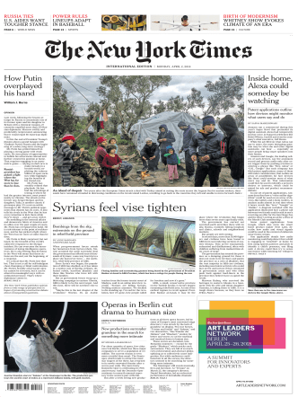 2018-04-02 The New York Times International Edition