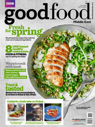 BBC Good Food Middle East April 2018