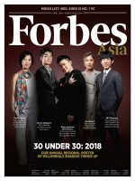 Forbes Asia - April 2018