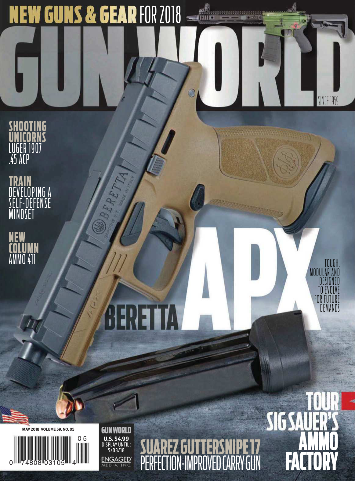189dee66104 Gun World - May 2018