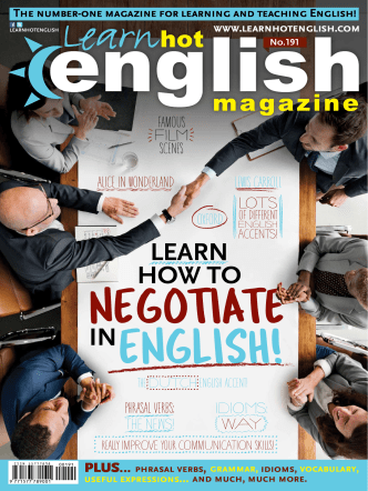 Learn Hot English Magazine  191 April 2018