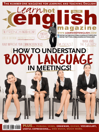Learn Hot English Magazine • Audio Edition • Number 190 • March 2018