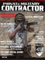 Private Military Contractor International - April 2018
