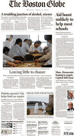 The Boston Globe – April 02, 2018