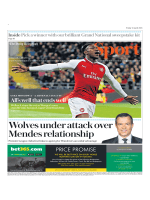 The Daily Telegraph Sport - April 13, 2018