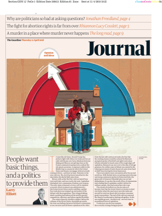 The Guardian e-paper Journal - April 12, 2018