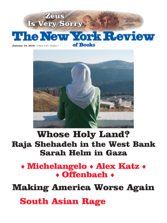 The New York Review of Books – December 23, 2017
