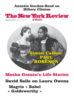 The New York Review of Books — January 13, 2018