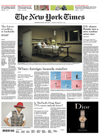 The New York Times International Edition 2018-02-06