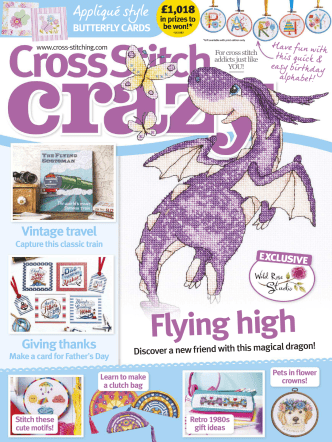 Cross Stitch Crazy - June 2018