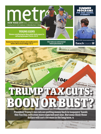 Metro New York – April 17, 2018
