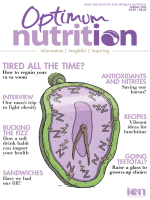 Optimum Nutrition - April 2018