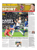 The Observer Sport — January 14, 2018