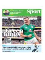 The Observer Sport - March 11, 2018