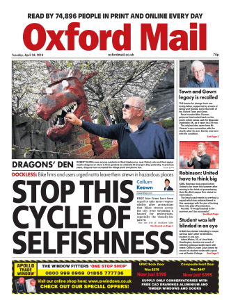Oxford Mail – April 24, 2018