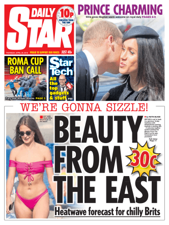 Daily Star – April 26, 2018