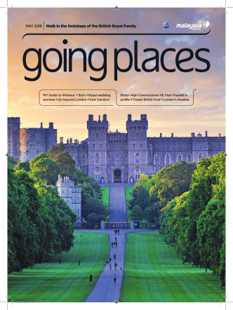 Going Places - May 2018