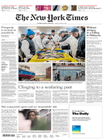 International New York Times - 27 April 2018