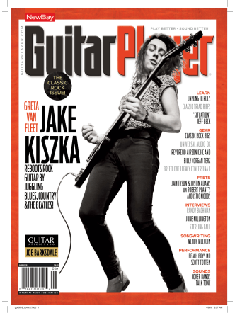 Guitar Player - June 2018 part 1
