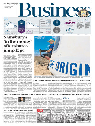 The Daily Telegraph Business  May 1 2018