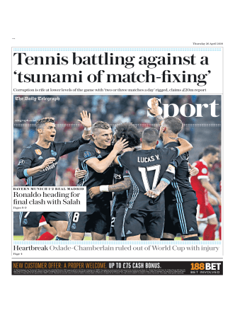 The Daily Telegraph Sport - April 26, 2018